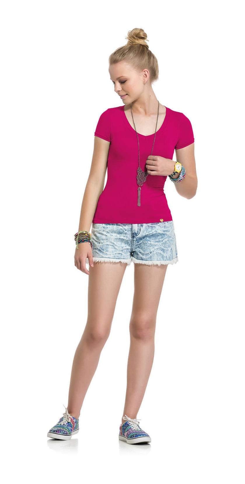 2d4b5e852 Look 1571 - Juvenil Hits - Blusas - Primavera Verão 2016 - Lunender